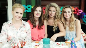 Inga, Anka, Patrycja i Zuza
